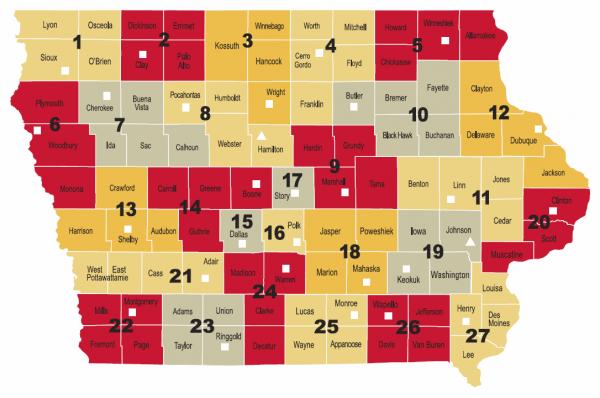 Statewide Region Map