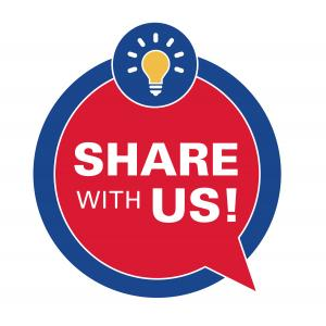 Share with Us!
