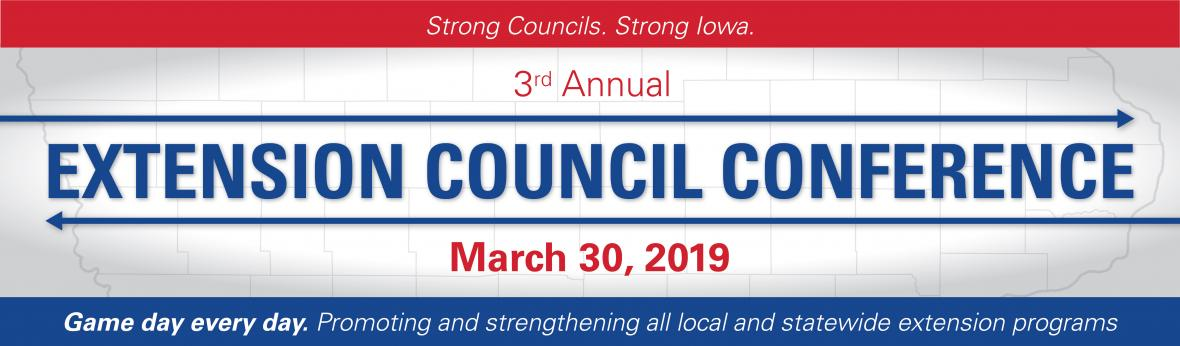 Extension Council Conference banner