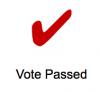 vote passed